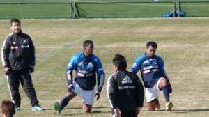 横浜F・マリノスファビオとドゥトラ