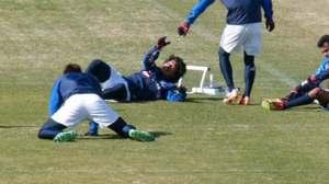 横浜F・マリノス中澤佑二と栗原勇蔵
