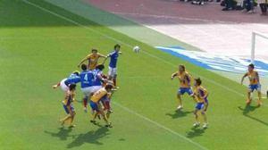横浜F・マリノス vs ベガルタ仙台 セットプレー