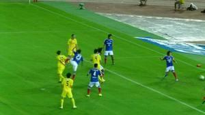 横浜F・マリノス vs 柏レイソル 1失点目