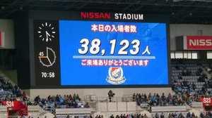 横浜F・マリノス vs 川崎フロンターレ 38123人