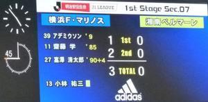 横浜F・マリノス富澤清太郎の得点