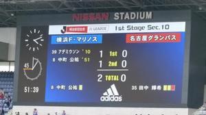 横浜F・マリノスvs名古屋グランパス