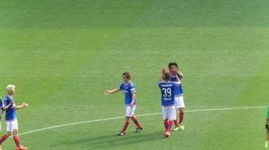 横浜F・マリノス中澤佑二とアデミウソン